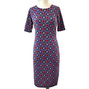 LulaRoe Knit Midi Dress with 3/4 Sleeves